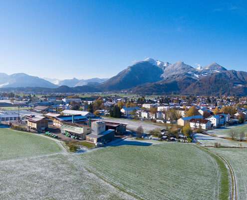 Gemeinde Grassau mit Biomassehof Achental